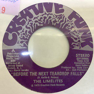 THE LIMELITES/BEFOR THE NEXT TEARDROP FALLS