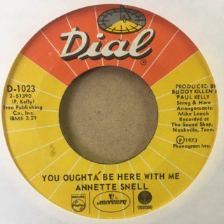 annette snell/you oughta'be here with me