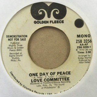 LOVE COMMITTEE/ONE DAY OF PEACE