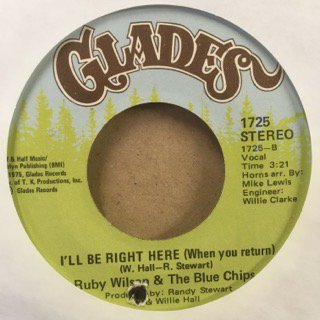 RUDY WILSON&THE BLUE CHIPS/NUMBER ONE IN MY HEART