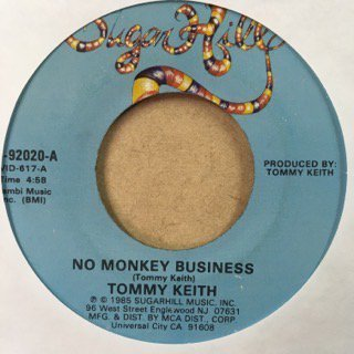 Tommy Keith/no monkey business