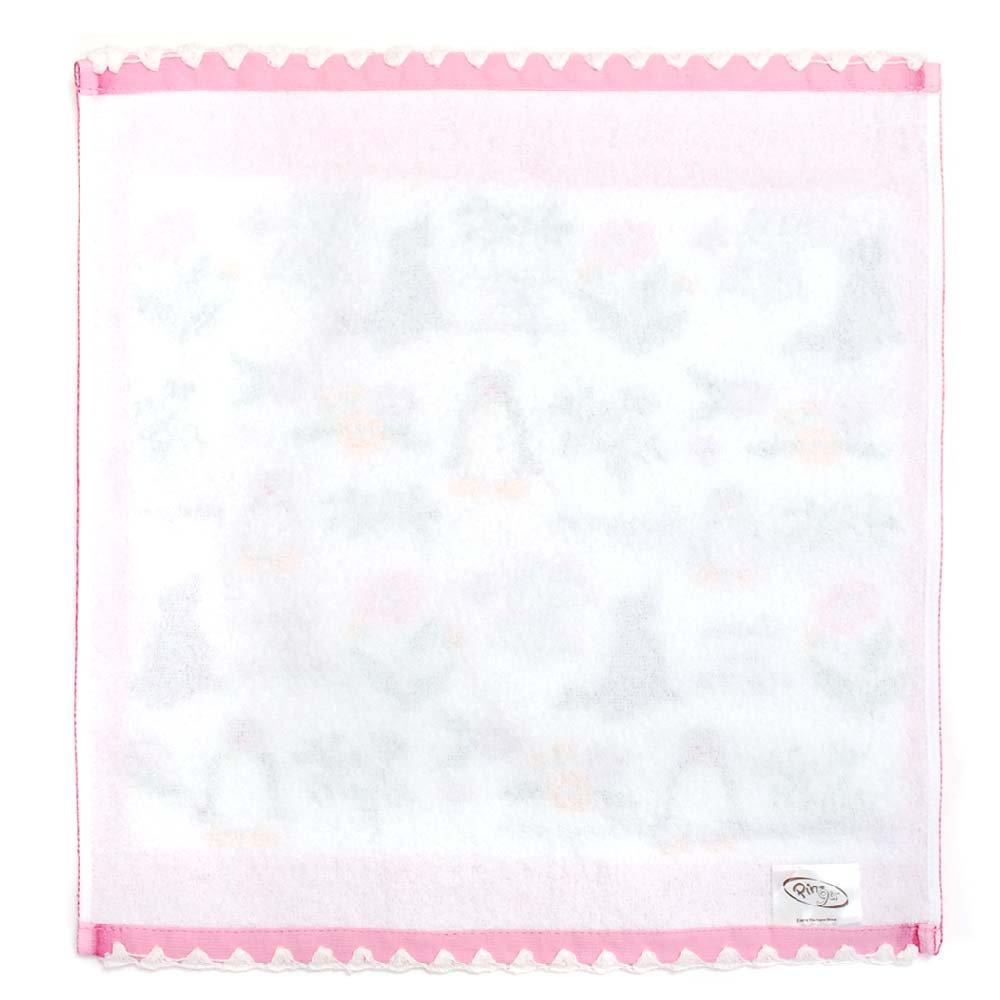 ピングー ウォッシュタオル(ガーデンズ)ピンク PG520 PG