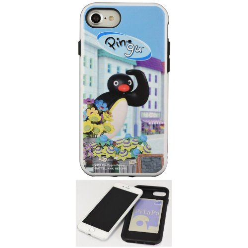 iPhone8/7/6s/6対応ハイブリッドケース(Pingu in the city) PG-56C PG