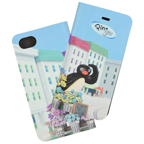 iPhone8/7/6s/6対応フリップカバー(Pingu in the city) PG-60C PG