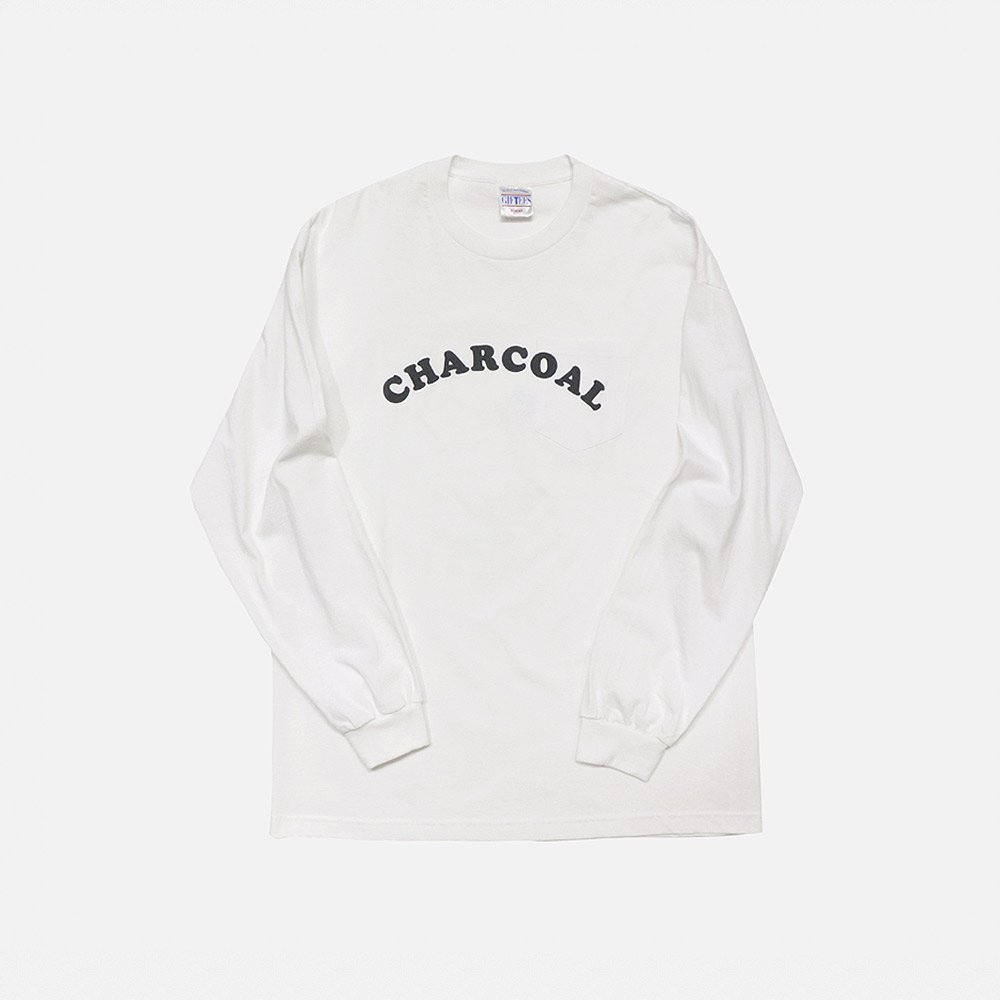 Today Charcoal Print L/S