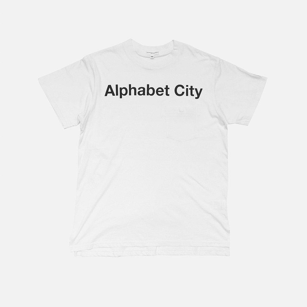EG Alphabet City Print T