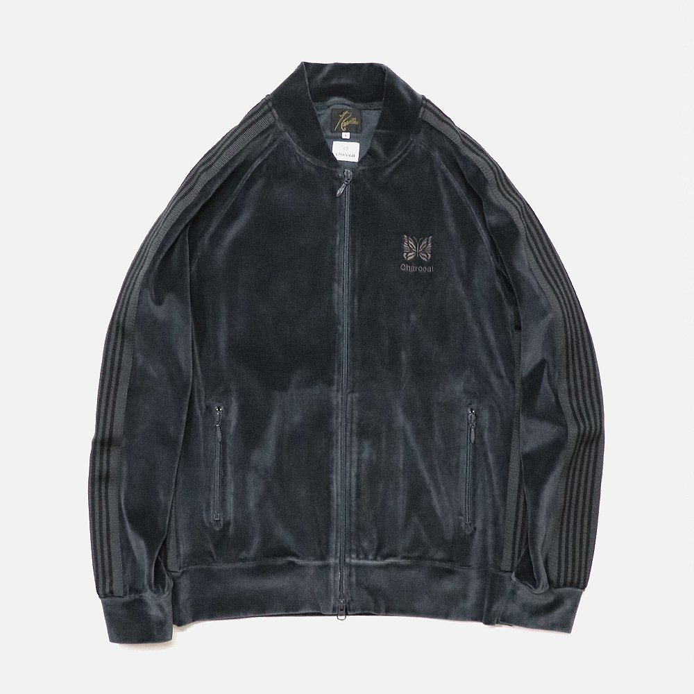 ND Velor Rib Collar Track Jacket