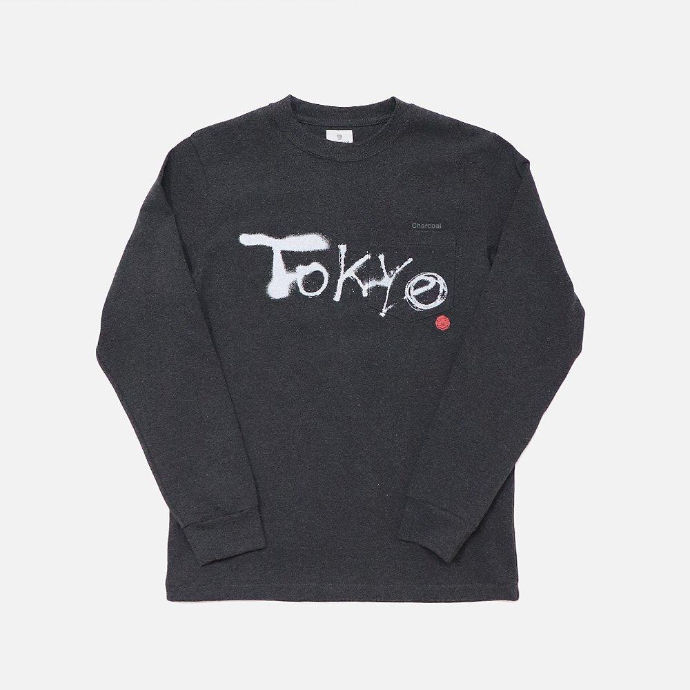 OC 29 Tokyo Spray Print L/S