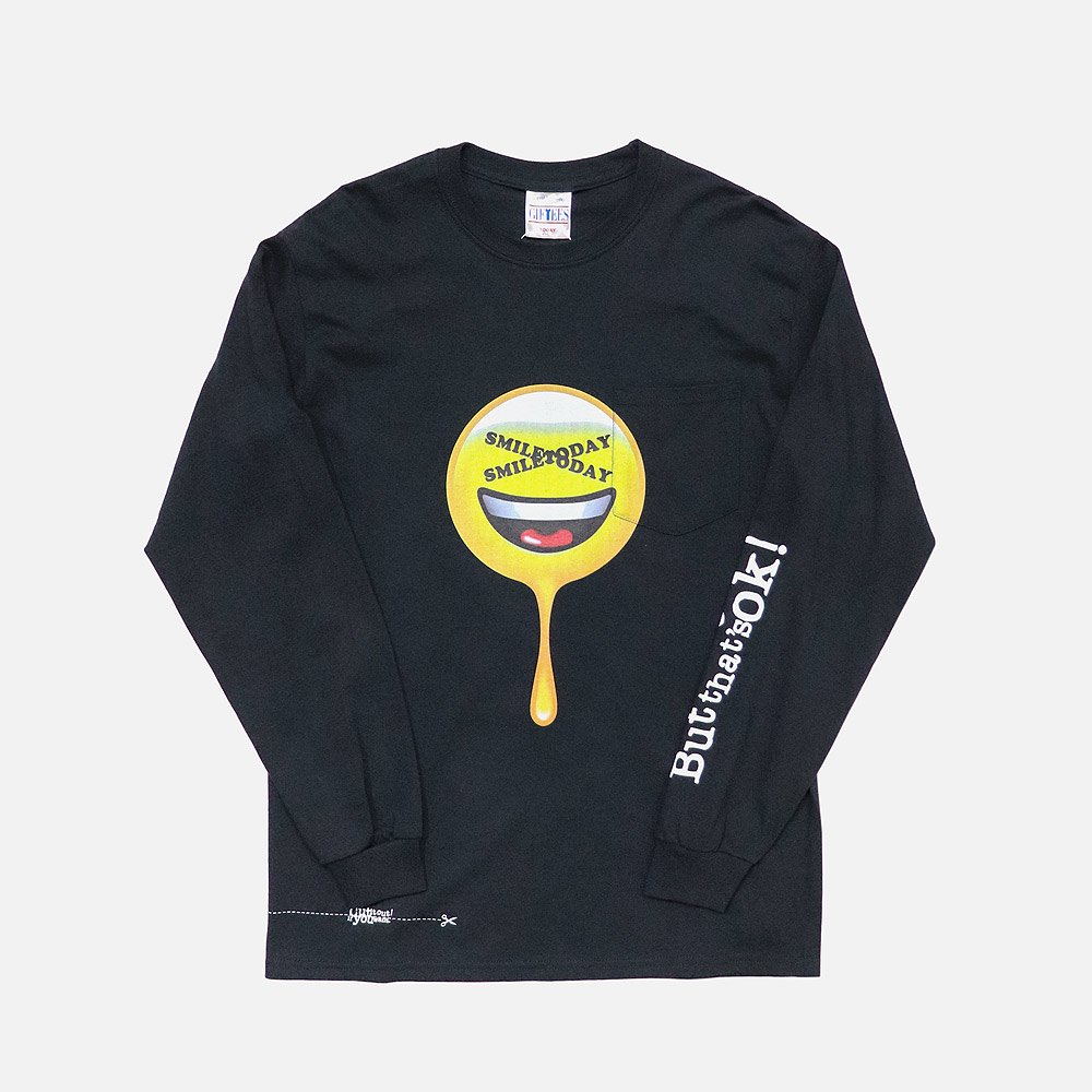 TODAY Smile Print L/S