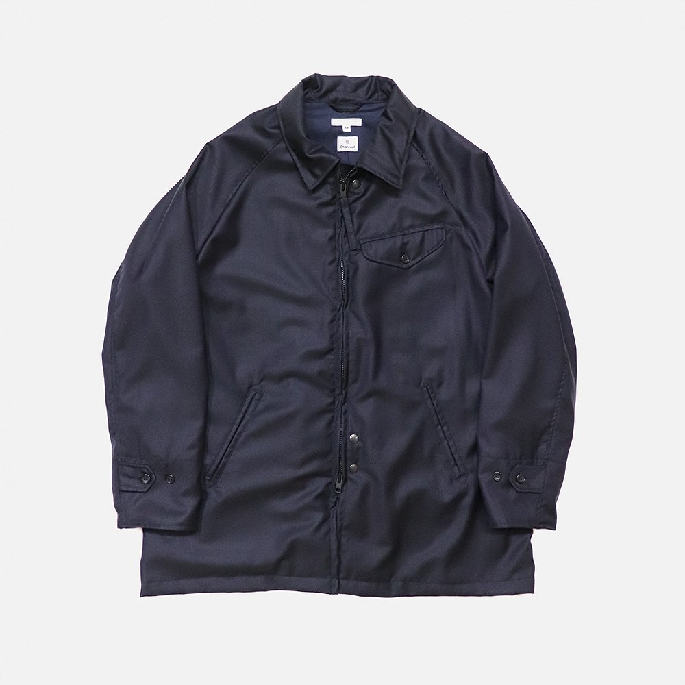 EG Car Coat (Wool Solid)