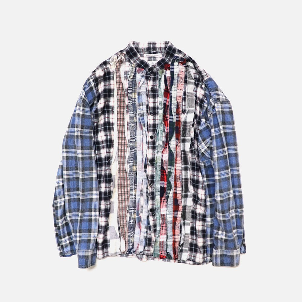 Re Build Flannel Band Shirt
