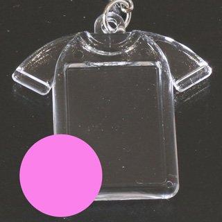 ビーズストラップ Tシャツ・ピンク