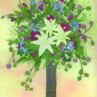 まむし草の花瓶