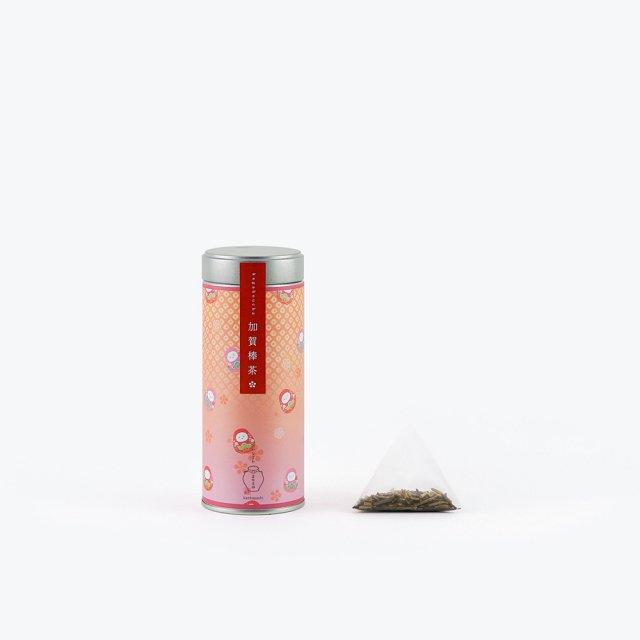 加賀棒茶 だるま (ギフト箱付)