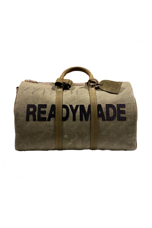 READYMADE x CLOT OVER NIGHT BAG GREEN