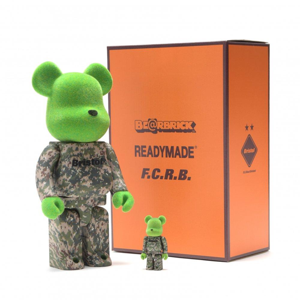 READYMADE X F.C.R.B BE@RBRICK 100%&400%
