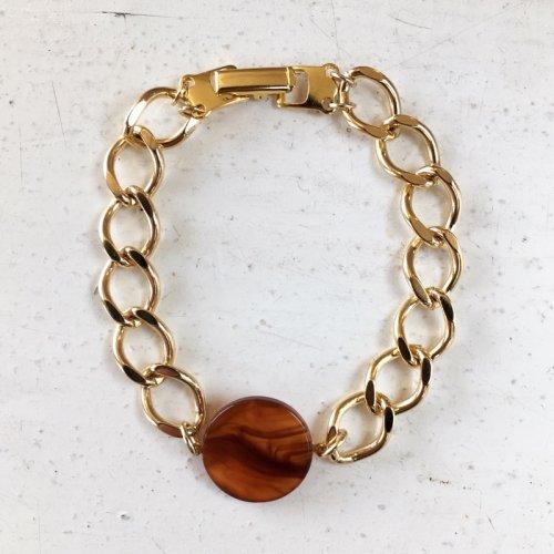 Bekko impact chain bracelet