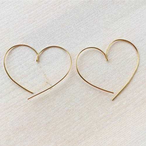 Heart shape pierce