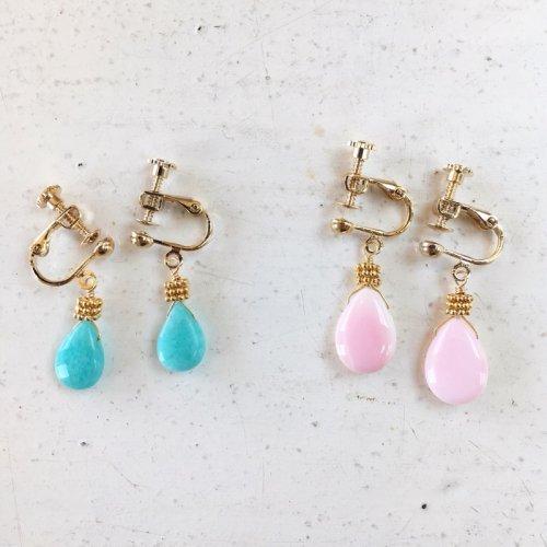 Rich stone earring