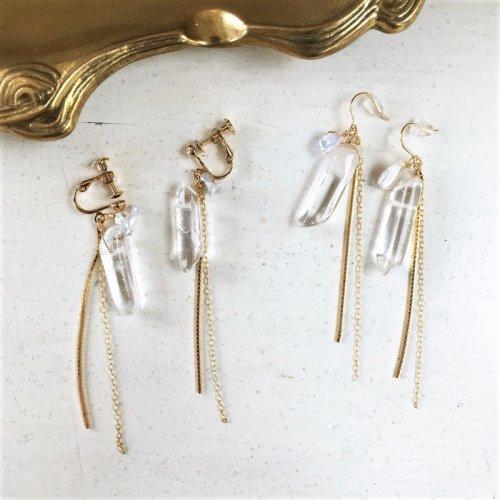 Crystal chain pierce