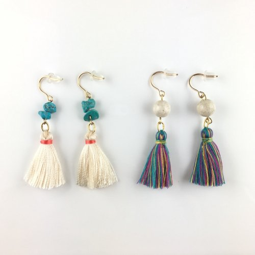 Tassel stone pierce
