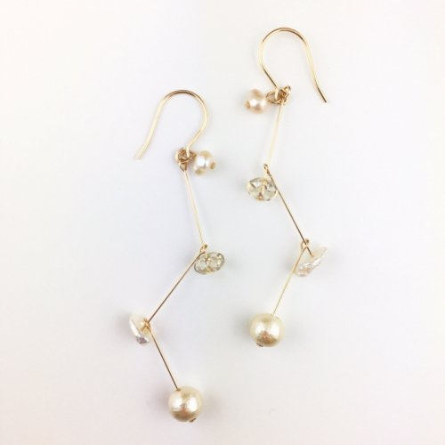 Mix pearl swing  pierce