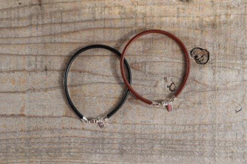 Leather bracelet (men's)