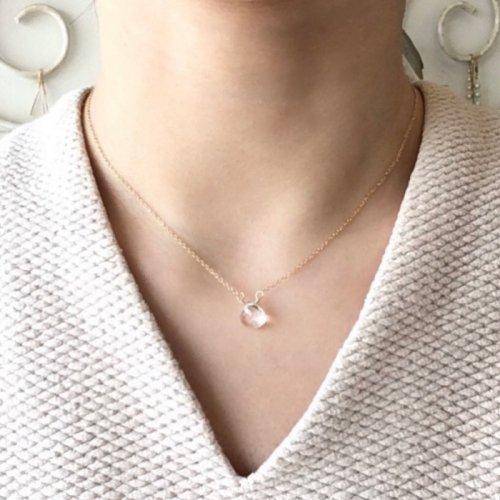 Birthstone necklace (Crystal)