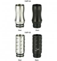 VapeOnly 510 Drip Tip VMP-04/VMP-05★ベイプオンリー プルームテックたばこカプセル対応 ドリップチップ マウスピース 510スレッド Ploom tech ドリチ
