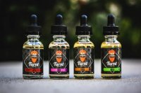 リキッド TURNT VAPE CO. Strawberry Popped/ XXX/P.B.S./Grammy's Apple Pie/Rico/Blueberry Popped 30ml