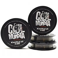 COIL MONSTA Kanthal A1 wire 22〜28AWG 30ft 約9m★コイルモンスタ カンタル A-1 ワイヤー 約9メートル【新品・未開封】