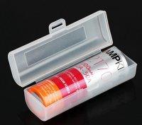 【即納】VAPEバッテリー20700/21700×1本用 保護収納ケース プラスチック製★Plastic Storage Case for Single 21700 Battery★電子タバコ