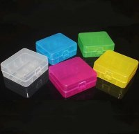 VAPEバッテリー26650×2本 収納可 保護収納ケース プラスチック製★Iwodevape 2×26650 PC Battery Protective Storage Case【9684138】