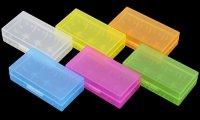 【即納】VAPEバッテリー18650×2本まで収納可能 保護収納ケース プラスチック製★2*18650/16340 Plastic Battery Protective Storage Case