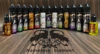 【即納】Nameless Element Juice Sliver Label シードルブリュットメントール Necromancer 15ml/30ml60ml★ネームレスエレメント ネクロマンサー