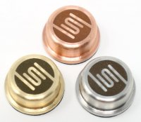 【即納】SEIZE VAPE CO. The Zipper MOD用 Metal Buttons★セイズ ベイプシーオー ザ・ジッパー モッド メカニカル ボックスモッド用 メタル製 パフボタン