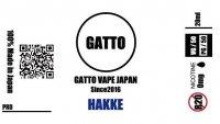 GATTO JUICE HAKKE メンソール 15ml/60ml★国産 ニコチン濃度0%★VAPE・ベイプ ガットジュース ハッケ