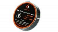【即納】GeekVape SS Fused Clapton Wire 24GAx2+32GA 10ft 約3m★ギークベイプ 24ゲージ×2+32ゲイジ フューズドクラプトン SS316L ワイヤー