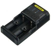 【即納】Nitecore Intellicharger SC2 2-slot Charger バッテリー充電器★リチウムイオン充電池 対応