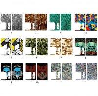 【即納】Authentic VandyVape Replacement Stickers for Pulse BF Box Mod★バンディーベイプ パルス BF MOD用 ドレスアップステッカー