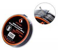 【在庫あり★即納可能】Geek Vape N80 Framed Staple Twisted Wire (26GA×2 Twisted + 26GA×2) + 32GA 10ft 約3m
