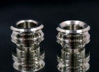 KEMURI PRODUCT製 810スレッド drip tip SSシルバー 疾風RDA用 ストレートタイプ/テーパータイプ★VAPE用 爆煙型ドリチ★ベイプ(電子タバコ) ドリップチップ