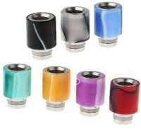 アクリル製 510ドリップチップ 18.5mm★Acrylic-wrapped Stainless Steel Hybrid 510 Drip Tip【1948906/1948900/1948907】