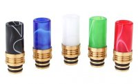 アクリル製 ドリップチップ 30.6mm★Acrylic + Brass Hybrid 510 Drip Tip★ベイプ(電子タバコ) 510スレッド ドリチ【1998805/1998800】