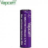 【在庫あり★即納可能】Authentic Vapcell INR 21700 battery 3100mah 35A★バップセル リチウムイオン ニッケル リチャージブル バッテリー★充電池
