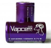 【在庫あり★即納可能】Authentic Vapcell INR 18350 battery 1100mah 9A★バップセル リチウム イオン ニッケル リチャージブル バッテリー★充電池