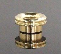 KEMURI PRODUCT製 810スレッド drip tip ベリーショート Brass(ブラス) テーパータイプ★VAPE用 爆煙型ドリチ ドリップチップ