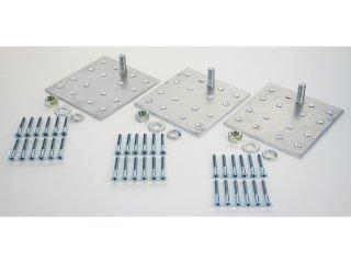 三菱 電気温水器部材 脚固定金具(木質床用 M10ネジ) GZ-H10B