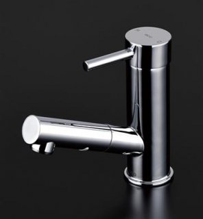 TOTO 洗面所用水栓 TLC32ER シングルレバー混合栓 ホース付タイプ 一般地用