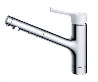 TOTO TKS05306J 台付シングル混合水栓(ハンドシャワー・吐水切り替えタイプ) GGシリーズ 一般地用